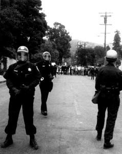 Berkeley Riot Police
