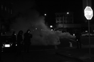Berkeley Riot SmokeBomb